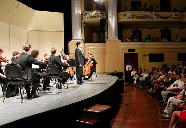 El Peón Contreras será el escenario del inicio de la temporada de la OSY. En la imagen un concierto de la Orquesta hace un año. (Milenio Novedades)