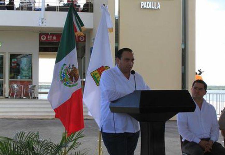 """La terminal """"Filiberto Sabido Padilla"""", fue inaugurada por el gobernador, Roberto Borge Angulo. (Ángel Castilla/SIPSE)"""