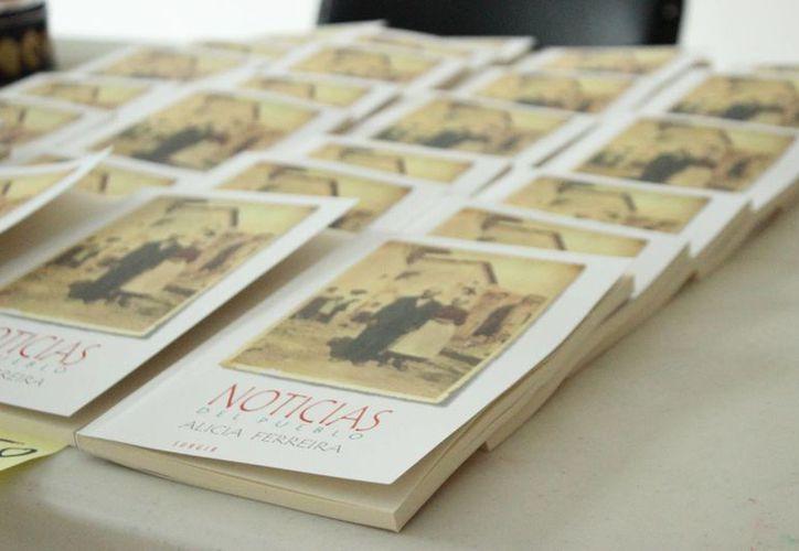 El libro es una recopilación de 35 relatos que surgieron de imágenes recolectadas. (Redacción/SIPSE)