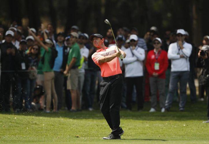 El torneo World Golf Championships se estará celebrando en la Ciudad de México, la nueva sede del torneo tras 55 años.En la foto, Rory McIlroy de Irlanda del Norte.(Eduardo Verdugo/AP)