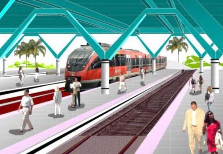 Serán siete licitaciones que se realizarán sobre el tren maya para tramos de vía. (Archivo/Sipse)