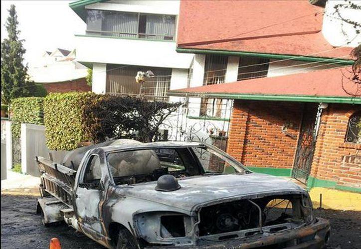 No hubo heridos por el incidente. (Twitter.com/@canitus)
