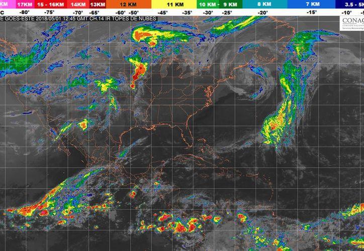 Se prevén lluvias aisladas para Quintana Roo. (SMN)