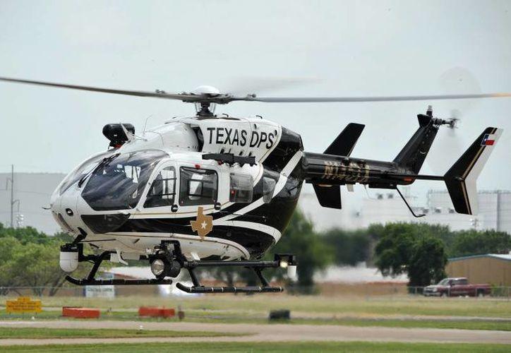 La corporación era la única agencia a lo largo de la frontera suroeste que permitía la práctica de disparar desde el aire. (eurocopter.com)