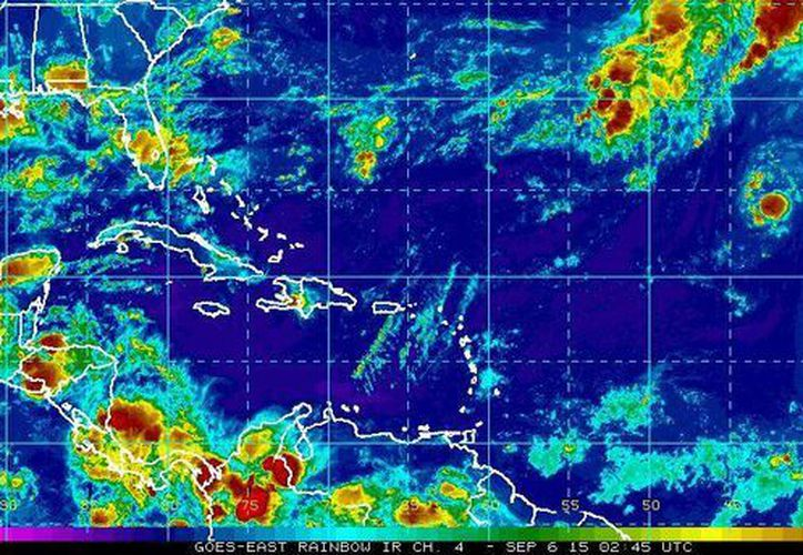Se espera que Grace, séptima tormenta tropical de la temporada de huracanes, se debilite este lunes. (ssd.noaa.gov)