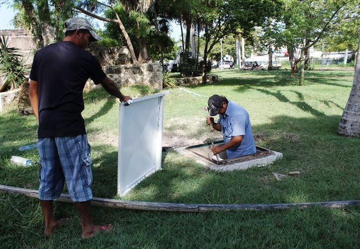 La remodelación de las estructuras se realizan con  realizarse con la participación de personal especializado y calificado. (Ángel Castilla/SIPSE)