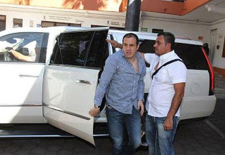 Cuauhtémoc Blanco asegura que hay mucha gente involucrada en la crisis financiera que vive la ciudad de Cuernavaca. (Milenio)