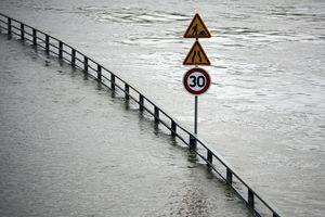 Se inunda la 'Ciudad Luz'