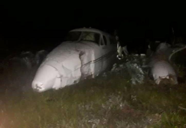 Durante la madrugada del jueves, una avioneta cayó en los límites de México y Belice. (Foto: Redacción/SIPSE)