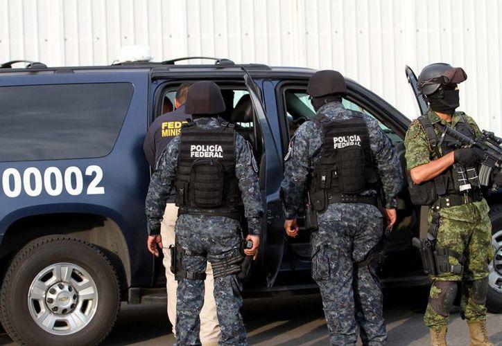 Según AP, el incidente ocurrió hace una semana cerca de la localidad de Camargo, en la frontera con Río Grande, Texas. Imagen de contexto de un operativo de fuerzas federales en Tamaulipas. (Archivo/Notimex)