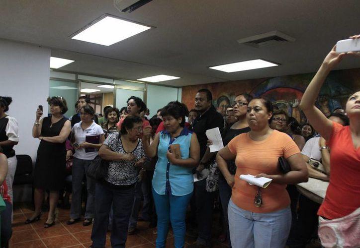 Según los resultados del último examen de oposición para plazas docentes, más del 65% de los aspirantes obtuvieron resultados 'no idóneos'. (Harold Alcocer/SIPSE)