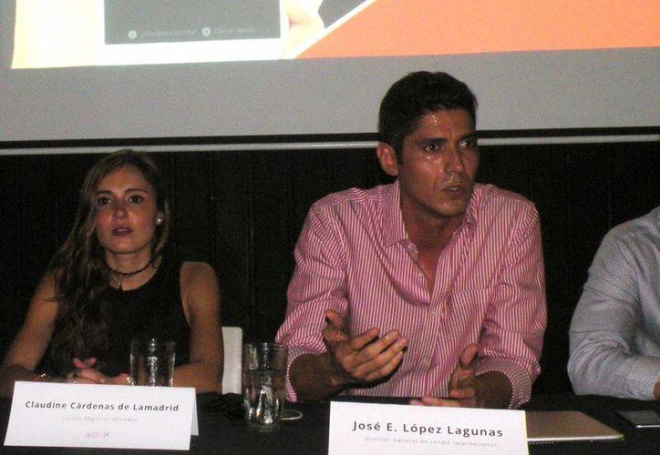 José López Lagunas, director general de Lendik. (Milenio Novedades)
