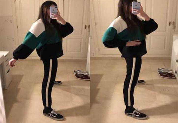 Algunas usuarias expresaron su envidia hacia la joven, ya que también quieren ser delgadas. (Twitter)