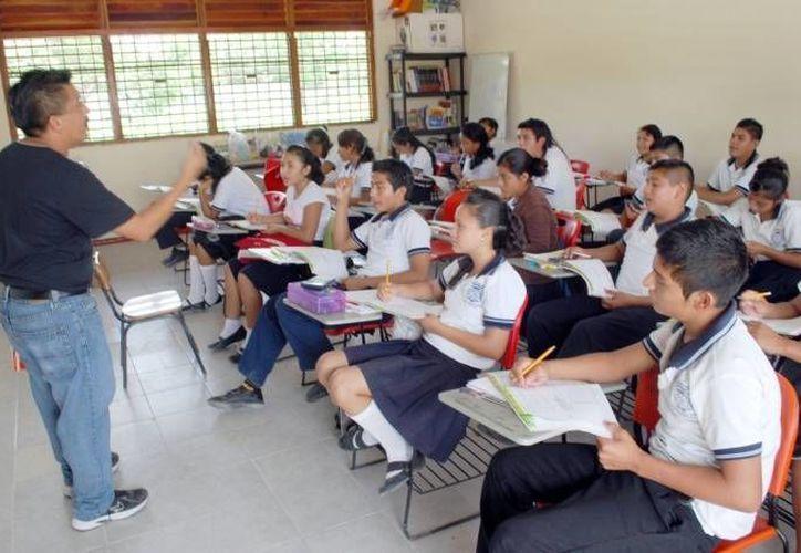 El informe de Mexicanos Primero detalló que el 14.7 por ciento de los maestros no saben ni entienden el inglés. Imagen de contexto, solo para fines ilustrativos. (Archivo/SIPSE)
