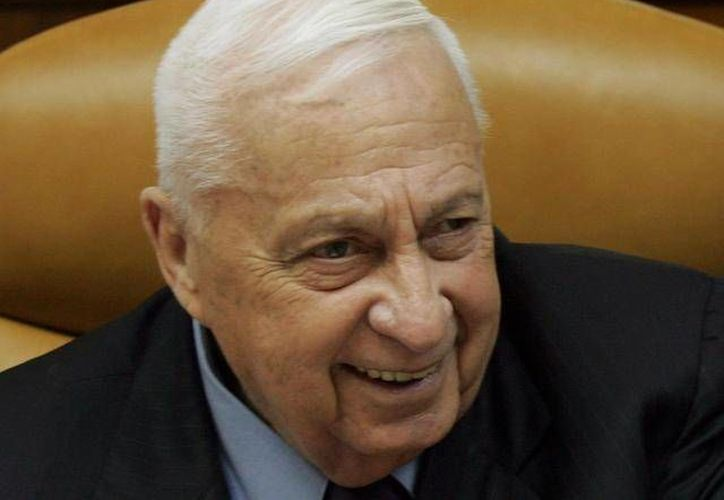 Los médicos de Ariel Sharon indicaron que no es necesario curar las dolencias del exprimer ministro. (Archivo/SIPSE)