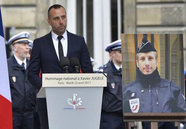 No es la primera vez que un familiar de víctimas del terrorismo islámico en Francia responde con esta frase.  (Captura de video).
