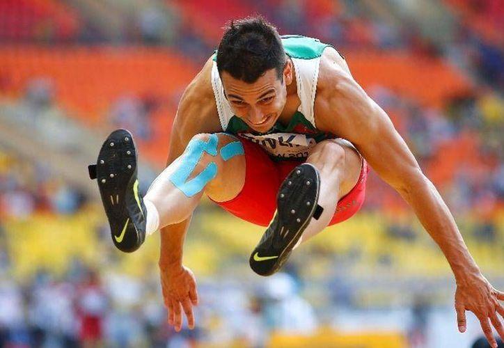 Rivera falló un salto y tuvo uno de apenas 7.5o, lo que lo relegó del podio. (Foto: Agencias)