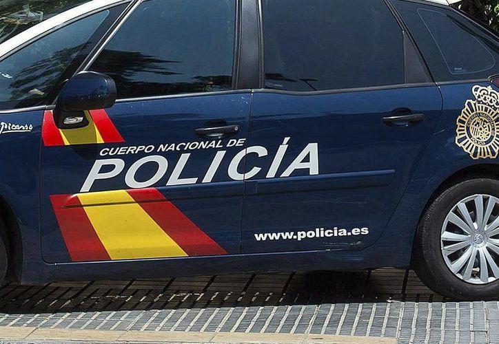 Imagen de archivo de una patrulla de la Policia Nacional de España, que participó en la operación conjunta con Portugal. (EFE/Archivo)