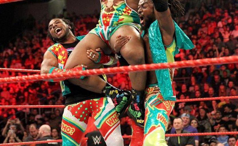 "La tercia de ""The New Day"" es una de las más vistosas en su accionar en la WWE. (Foto: cortesía)"