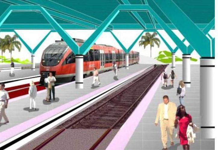Ferrocarril podría dar servicio mixto: gente y mercancía. (Imagen ilustrativa tomada de archivo)