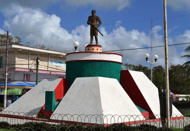 Nicolás Bravo cuenta con apenas siete mil 980 habitantes, dos mil 120 habitantes por debajo del mínimo requerido para establecer una cabecera municipal. (Edgardo Rodríguez/SIPSE)