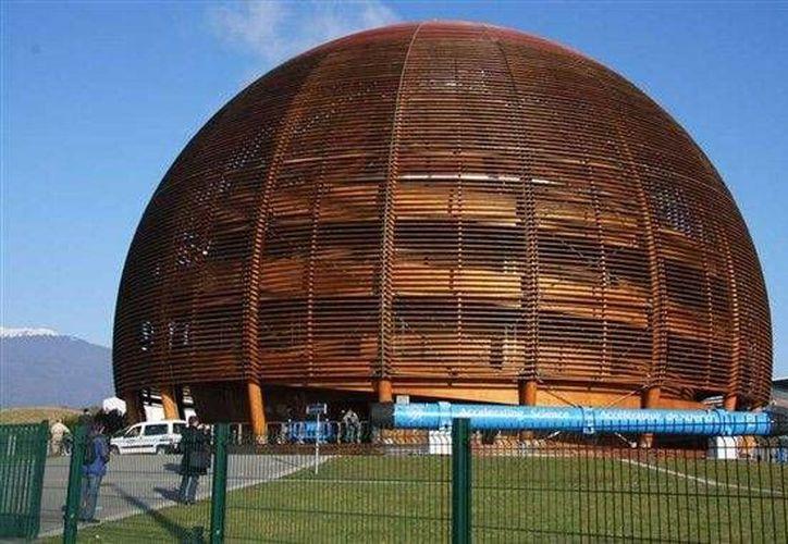 Fachada del Centro Europeo de Investigación Nuclear. (www.pcactual.com/Archivo)