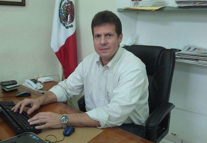 La Profeco Yucatán es el primer cargo público para José Nevarez Cervera. (Milenio Novedades)
