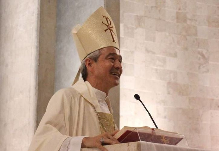Monseñor Jorge Patrón Wong, quien fue llamado a la Curia Romana. (Milenio Novedades)
