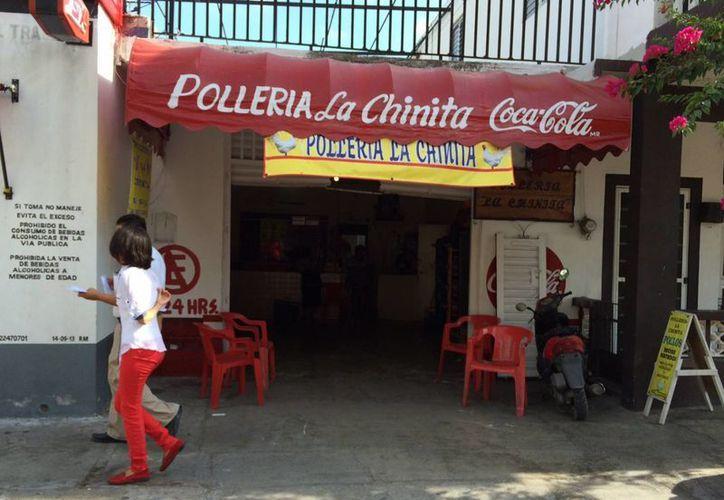 La pollería 'La Chinita' de Progreso se salvó de un robo gracias a los ladridos de unos perros. (SIPSE)