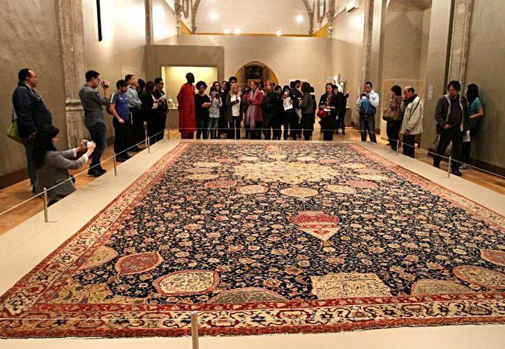 La muestra 'Lo terrenal y lo divino: Arte Islámico de los siglos VII al XIX' se inaugurará este miércoles y se cerrará el 4 de octubre en la Ciudad de México. (Notimex)