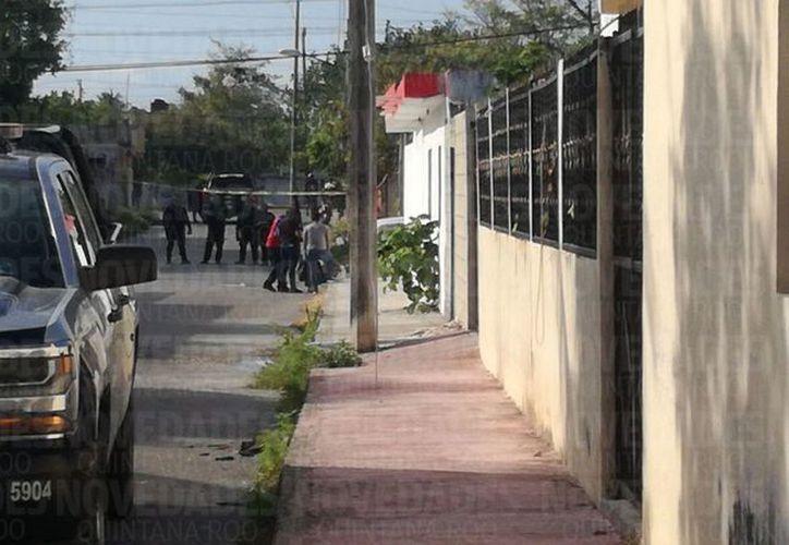 Los hechos ocurrieron en la Supermanzana 233 de Cancún. (Pedro Olive/SIPSE)