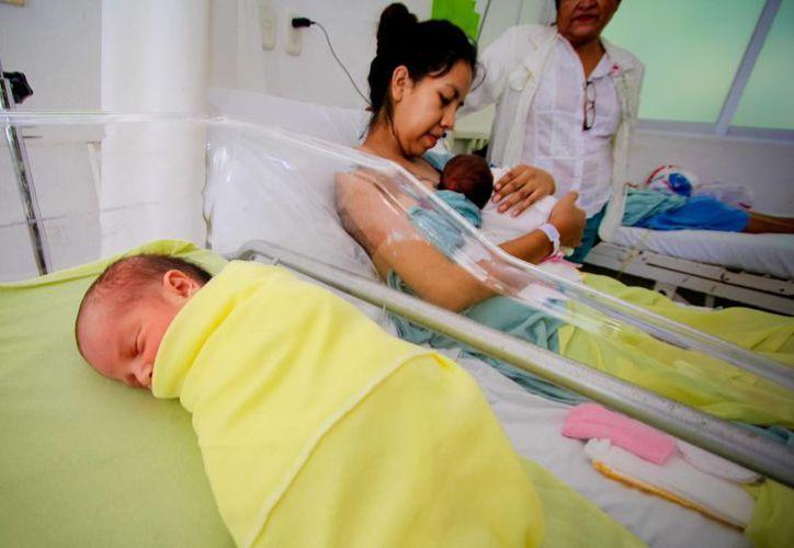 En el primer trimestre del año, el 25% de los partos ocurridos en el Hospital General de Cancún fueron en adolescentes. (Notimex)