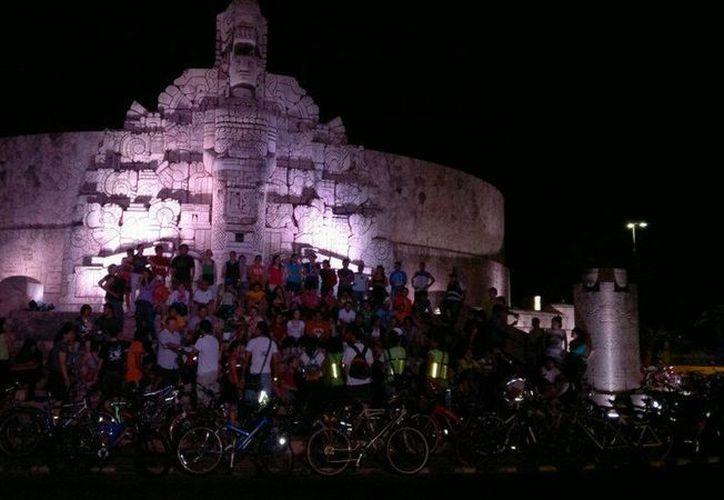 """La organización civil """"Cicloturixes"""" promueve el uso de la bicicleta como medio de transporte en Mérida. (Facebook oficial)"""