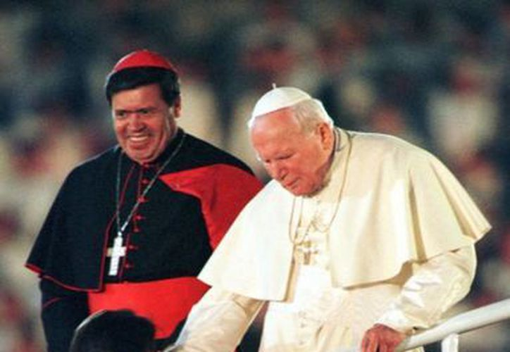 En su tercer viaje a México, el Papa arribó por primera vez como jefe de Estado, recordó el Arzobispo de Yucatán. (Archivo Notimex)