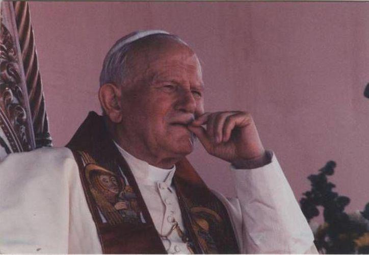 Juan Pablo II fue declarado Beato de la Iglesia el 1 de mayo de 2011 por el hoy Papa Emérito Benedicto XVI. (Archivo/SIPSE)