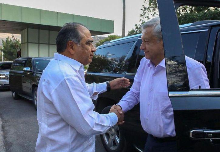 Héctor Astudillo, gobernador de Guerrero, fue abucheado en un evento. (Foto: Tomada de Twitter @HectorAstudillo)