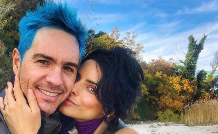 Aislinn Derbez y Mauricio Ochmann se atrevieron a hacer un cambio radical de look antes de su viaje por Italia. (Instagram)