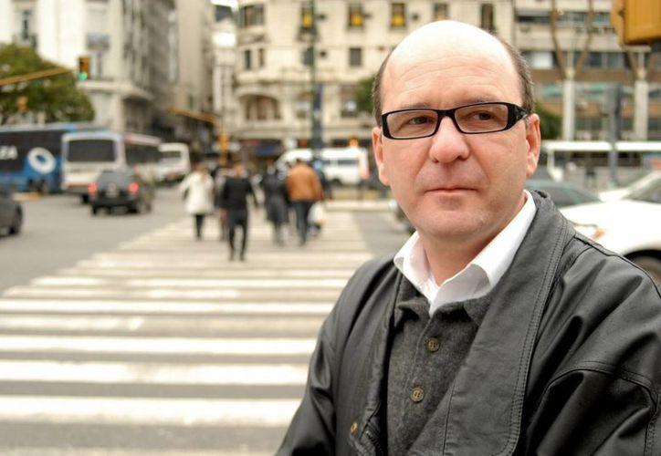 El escritor brasileño Luiz Ruffato (Cataguases, 1961), en Buenos Aires. (EFE)
