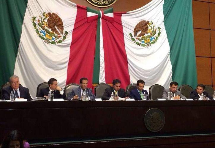 Comparecencia de funcionarios de Pemex en San Lázaro, por el caso de Oceanografía. (Milenio)