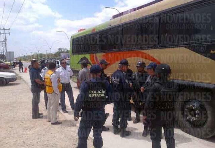 La profesionalización de los policías es parte de la meta de los gobiernos. (Israel Leal/SIPSE)
