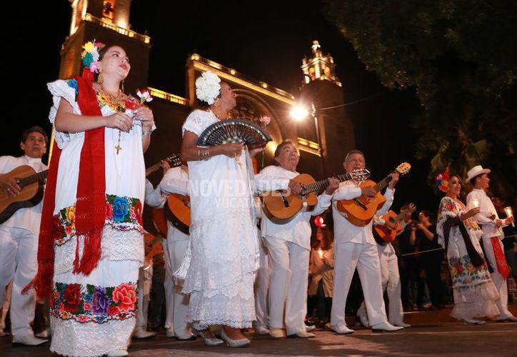 Hasta ahora ha habido una gran ritmo de audiencia  en galerías, museos y parques con motivos del Mérida Fest. (Foto archivo: Jorge Acosta)