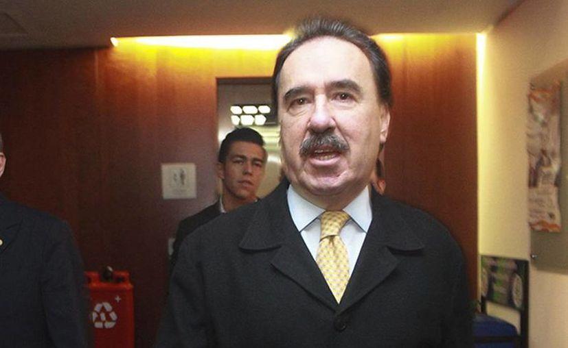 """""""Las reformas estructurales que aprobamos en el Congreso de la Unión se empiezan a reflejar en el bienestar de los mexicanos,"""", aseguró Emilio Gamboa, coordinador del PRI en el Senado. (Excelsior)"""