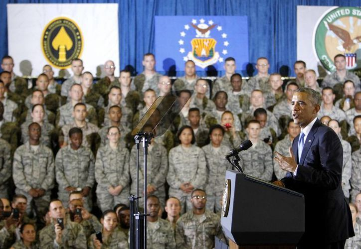 El president Barack Obama habla a militares en la Base de la Fuerza Aérea en Tampa, Florida, este miércoles 19 de septiembre de 2014. (Foto: AP)