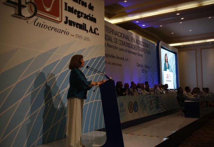 Se llevó a cabo el 16 Congreso Internacional de adicciones. (Redacción/SIPSE)