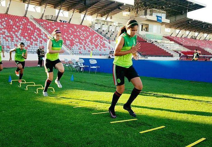 El Tri femenil sub 20 va por su pase a los cuartos de final de la Copa del Mundo ante Venezuela. (Facebook)