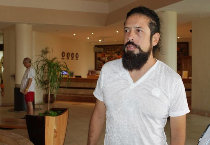 Daniel Muñoz Vargas, autor del filme. (Adrián Barreto/SIPSE)