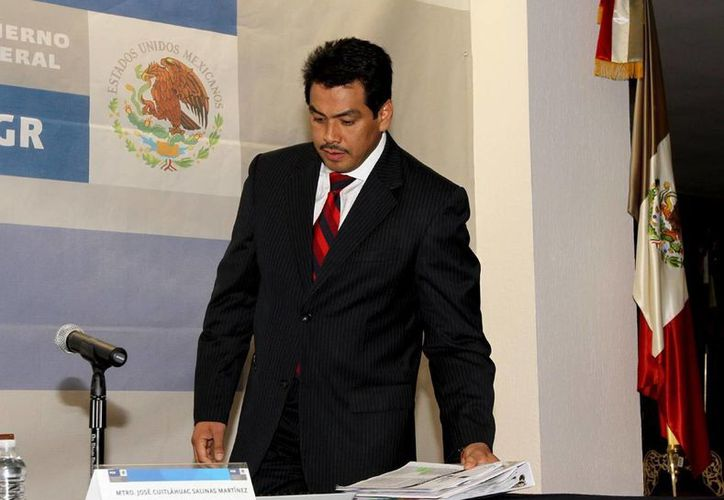 Cuitláhuac Salinas dijo que la investigación contra Ángeles Dauahare carecía de sustento. (Archivo/Notimex)