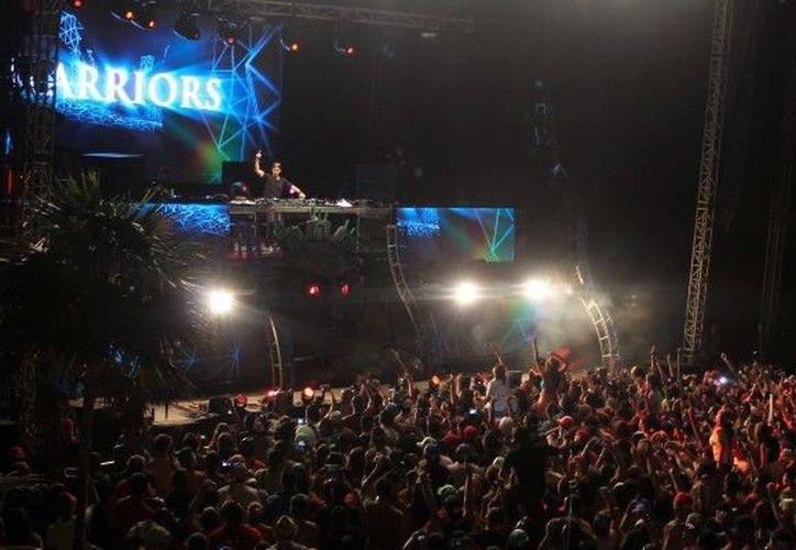 El Mayan Madness, combina el talento de los mejores exponentes de la música electrónica. (ADNdeportivo)