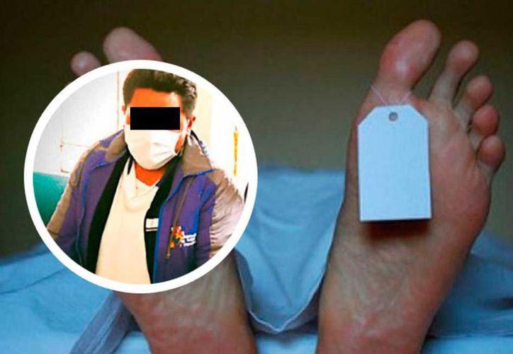 El joven aprovechó que los familiares de la difunta fueron a la caja a cancelar la atención médica. (Vanguardia)