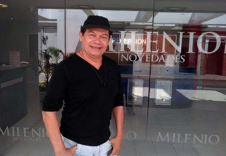 Juan de la Rosa es uno de los dramaturgos consagrados en Yucatán. (Milenio Novedades)